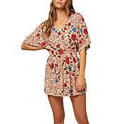 O'Neill Women's Amaze Short Sleeve Woven Dress