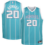 Jordan Youth Charlotte Hornets Gordon Hayward #20 Teal Dri-FIT Swingman Jersey