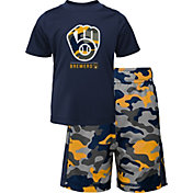 Gen2 Youth 4-7 Milwaukee Brewers Navy Major Set