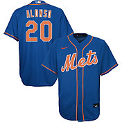 Nike Youth 4-7 Replica New York Mets Pete Alonso #20 Cool Base Blue Jersey