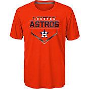 Gen2 Youth Houston Astros Orange 4-7 Eat My Dust T-Shirt