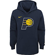 Nike Youth Indiana Pacers Navy Logo Hoodie