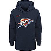 Nike Youth Oklahoma City Thunder Navy Logo Hoodie