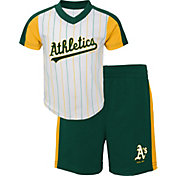 Gen2 Youth Toddler Oakland Athletics Green Line Up Set