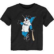 Gen2 Youth Toddler Miami Marlins Black Mascot T-Shirt