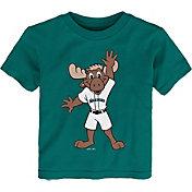 Gen2 Youth Toddler Seattle Mariners Green Mascot T-Shirt