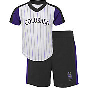 Gen2 Youth Toddler Colorado Rockies Black Line Up Set