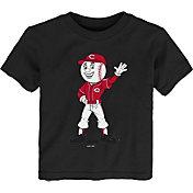 Gen2 Youth Toddler Cincinnati Reds Black Mascot T-Shirt