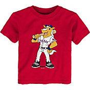 Gen2 Youth Toddler Texas Rangers Red Mascot T-Shirt