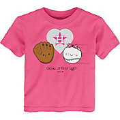 Gen2 Youth Toddler Girl's Houston Astros Pink 'Glove at First Sight' T-Shirt