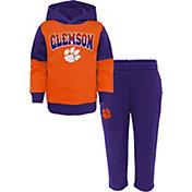 Outerstuff Toddler Tigers Orange Sideline Fleece Set