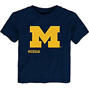 Outerstuff Youth Toddler Michigan Wolverines Navy Mascot T-Shirt