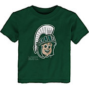 Outerstuff Youth Toddler Michigan State Spartans Green Mascot T-Shirt