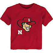 Outerstuff Youth Toddler Nebraska Cornhuskers Scarlet Mascot T-Shirt