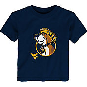 Outerstuff Youth Toddler West Virginia Mountaineers Navy Mascot T-Shirt