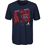 Gen2 Youth Atlanta Braves Navy Matrix T-Shirt