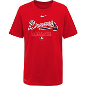 Nike Youth Atlanta Braves Red Dri-FIT Baseball T-Shirt