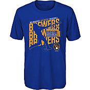 Gen2 Youth Milwaukee Brewers Royal Matrix T-Shirt