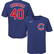 Nike Youth Chicago Cubs Wilson Contreras #40 Blue T-Shirt