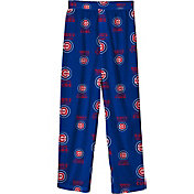 Outerstuff Youth Chicago Cubs Royal Blue Logo Print Sleep Pant