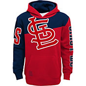Outerstuff Youth St. Louis Cardinals Red Slub Pullover Hoodie