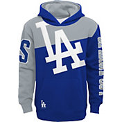 Outerstuff Youth Los Angeles Dodgers Royal Slub Pullover Hoodie