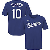 Nike Youth Los Angeles Dodgers Justin Turner #10 Blue T-Shirt
