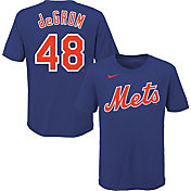 Nike Youth New York Mets Jacob deGrom #48 Blue T-Shirt
