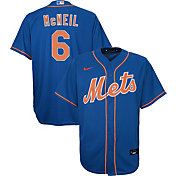 Nike Youth Replica New York Mets Jeff McNeil #6 Cool Base Royal Jersey