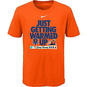 Nike Youth New York Mets Orange 'Just Getting Warmed Up' 2020 Spring Training T-Shirt