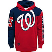 Outerstuff Youth Washington Nationals Red Slub Pullover Hoodie