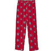 Outerstuff Youth Washington Nationals Red Logo Print Sleep Pant