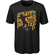 Gen2 Youth Pittsburgh Pirates Black Matrix T-Shirt