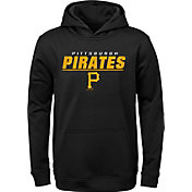 Gen2 Youth Pittsburgh Pirates Static Black Pullover Hoodie