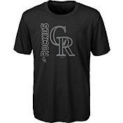 Gen2 Youth Colorado Rockies Black 4-7 Double Header T-Shirt