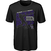 Gen2 Youth Colorado Rockies Black Matrix T-Shirt