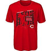 Gen2 Youth Cincinnati Reds Red Matrix T-Shirt