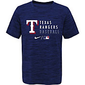 Outerstuff Youth Texas Rangers Blue Velocity Practice T-Shirt