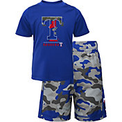 Gen2 Youth 4-7 Texas Rangers Blue Major Set