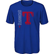 Gen2 Youth Texas Rangers Royal Double Header T-Shirt