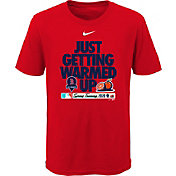 Nike Youth Boston Red Sox Red 'Just Getting Warmed Up' 2020 Spring Training T-Shirt