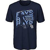 Gen2 Youth Tampa Bay Rays Navy Matrix T-Shirt