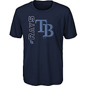 Gen2 Youth Tampa Bay Rays Navy Double Header T-Shirt