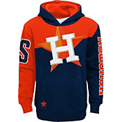 Outerstuff Youth Houston Astros Navy Slub Pullover Hoodie