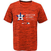 Outerstuff Youth Houston Astros Orange Velocity Practice T-Shirt