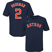Nike Youth Houston Astros Alex Bregman #2 Navy T-Shirt
