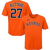 Nike Youth Houston Astros Jose Altuve #27 Orange T-Shirt