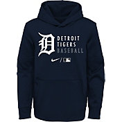 Nike Youth Detroit Tigers Navy Therma-FIT Hoodie