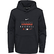 Nike Youth Detroit Tigers Navy Dri-FIT Therma Pullover Hoodie