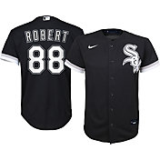 Nike Youth Chicago White Sox Luis Robert #88 Cool Base Black Jersey